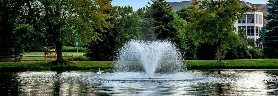 Fountains And Aerators For Ponds Lakes And Golf Courses